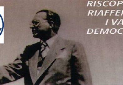 Importante accellerazione nel progetto di riunificazione della Democrazia Cristiana * Incontro a Roma UDC – DC – MIR