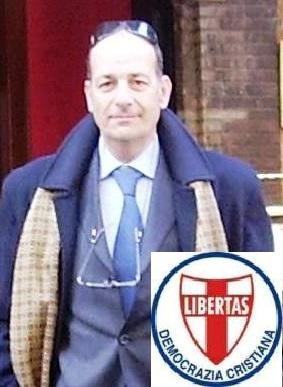 Il Dott. Massimo Emilio Rossi (Bergamo) Vice-Segretario politico nazionale Vicario della Democrazia Cristiana.
