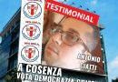 """LA DEMOCRAZIA CRISTIANA SCENDE IN CAMPO ANCHE A COSENZA CON IL MOTTO """"LAVORIAMO PER IL BENE COMUNE"""" !"""